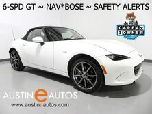 Mazda MX-5 Miata Grand Touring *6-SPEED, NAVIGATION, BLIND SPOT ALERT, COLLISION ALERTS, LEATHER, BOSE AUDIO, BLUETOOTH 2016