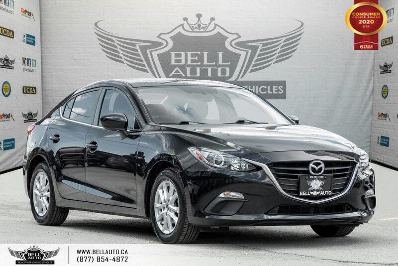 2016 Mazda Mazda3 GS, NO ACCIDENT, NAVI, REAR CAM, BLUETOOTH