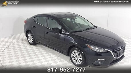 2016_Mazda_Mazda3_i Touring/CAM/BLIND SPOT/SUNROOF/PADDLE/CRUISE/P2_ Euless TX