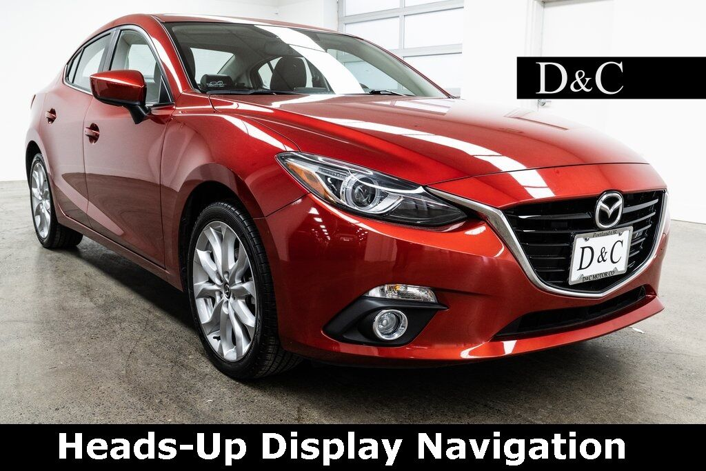 2016 Mazda Mazda3 s Grand Touring Heads-Up Display Navigation Portland OR