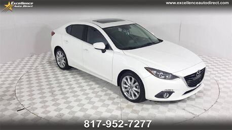 2016_Mazda_Mazda3_s Touring/CAM/PUSH START/SUN/BLIND SPOT/USB/P2_ Euless TX