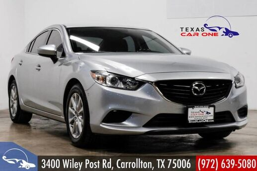 2016 Mazda Mazda6 i SPORT AUTOMATIC REAR CAMERA KEYLESS START BLUETOOTH LEATHER ST Carrollton TX