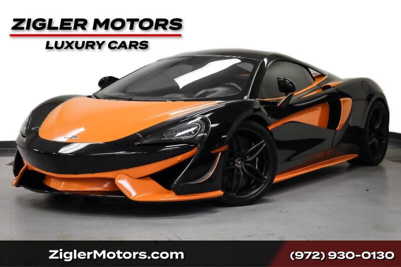 2016 McLaren 570S **Free Enclosed Shipping** Sport Exhaust Special Paint Carbon Black interior,
