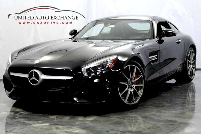2016 Mercedes-Benz AMG GT S 4.0L V8 Engine RWD w/ Navigation, Bluetooth Technology, Front and Rear Parking Aid with Rear View Camera, Burmester High-End Surround System, Fixed Panorama Roof Addison IL
