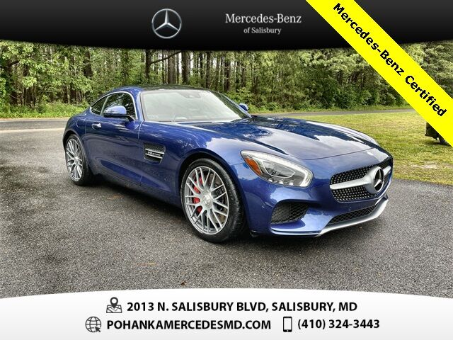 2016 Mercedes-Benz AMG® GT S Mercedes-Benz Certified Pre-Owned Salisbury MD