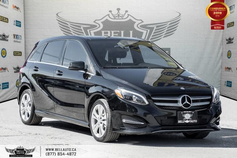 2016 Mercedes-Benz B-Class B 250, 4MATIC, Sports Tourer, NAVI, PUSH START, BACK-UP CAM, PAN Toronto ON