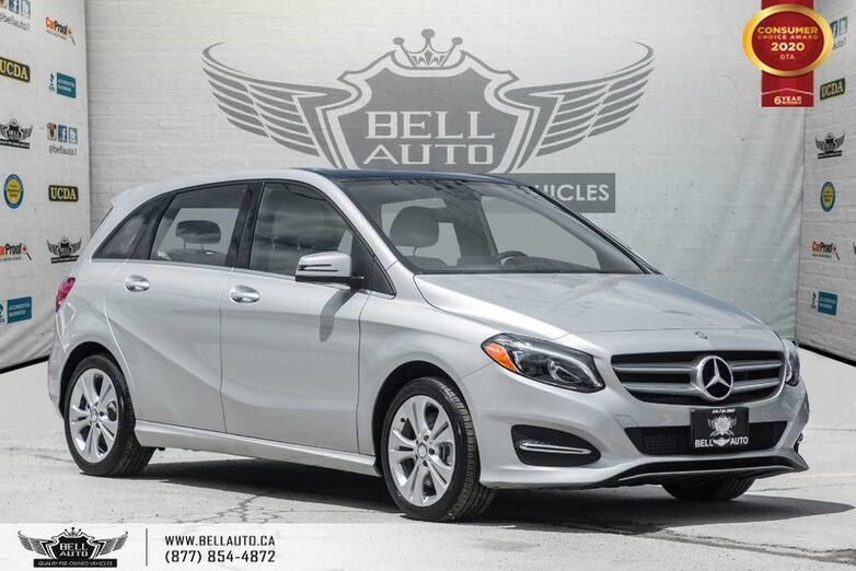 2016 Mercedes-Benz B-Class B 250 Sports Tourer, NO ACCIDENT, AWD, NAVI, REAR CAM, B.SPOT Toronto ON