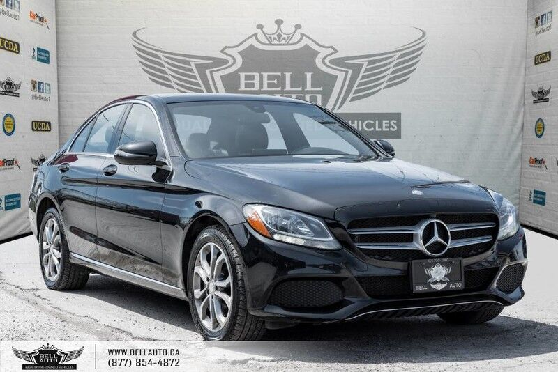 2016 Mercedes-Benz C- Class C 300, 4MATIC, NAVI, BACK-UP CAM, PANO ROOF, LEATHER