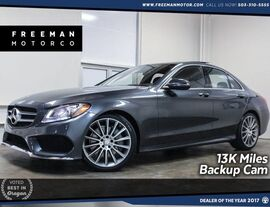 2016 Mercedes-Benz C 300 13K Miles Sport Package Pano Backup Cam