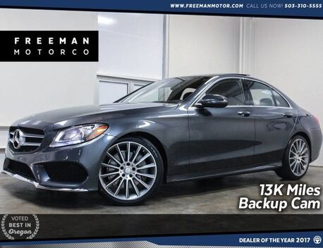 2016_Mercedes-Benz_C 300_13K Miles Sport Package Pano Backup Cam_ Portland OR