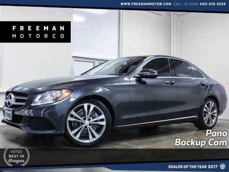 2016_Mercedes-Benz_C 300_23K Miles Pano Backup Cam Blind Spot Assist_ Portland OR