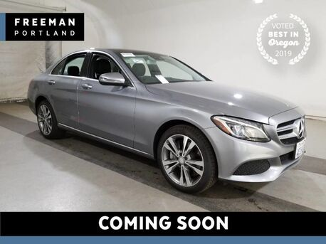 2016_Mercedes-Benz_C 300_4MATIC 15k Miles Nav Pano Keyless Go Htd Seats_ Portland OR