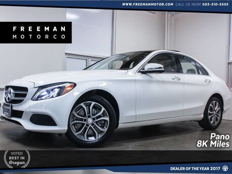 2016_Mercedes-Benz_C 300_4MATIC 8K Miles Pano Blind Spot Assist_ Portland OR