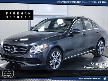 2016_Mercedes-Benz_C 300_4MATIC Blind Spot Asst Pano Keyless Go Htd Seats_ Portland OR