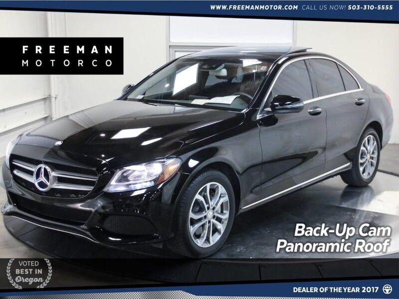 2016 Mercedes-Benz C 300 4MATIC Keyless-Go Back-Up Cam Pano Roof Portland OR