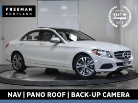 2016 Mercedes-Benz C 300 4MATIC Nav Pano Htd Seats Back-Up Cam Keyless Go