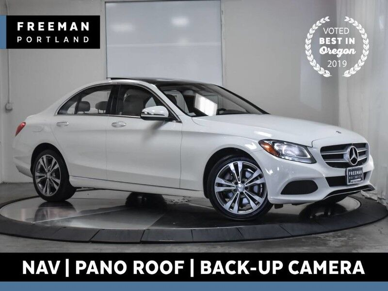 2016 Mercedes-Benz C 300 4MATIC Nav Pano Htd Seats Back-Up Cam Keyless Go Portland OR