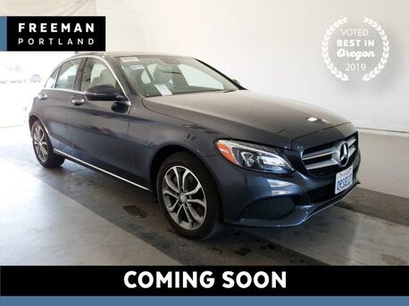 2016_Mercedes-Benz_C 300_4MATIC Pano Nav Heated Seats Back-Up Camera_ Portland OR
