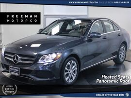 2016 Mercedes-Benz C 300 4MATIC Panoramic Roof Nav Heated Seats