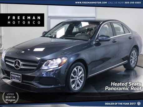 2016_Mercedes-Benz_C 300_4MATIC Panoramic Roof Nav Heated Seats_ Portland OR