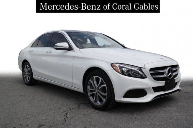 2016 Mercedes-Benz C 300 4MATIC® Sedan Coral Gables FL