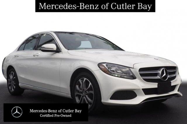 2016 Mercedes-Benz C 300 4MATIC® Sedan Cutler Bay FL