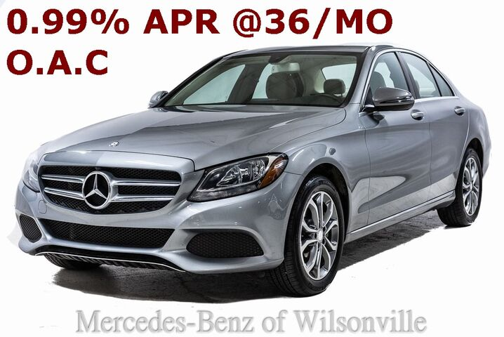 2016 Mercedes-Benz C 300 4MATIC® Sedan Portland OR