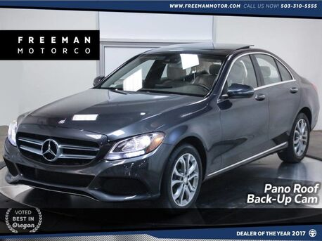 2016_Mercedes-Benz_C 300_4Matic Pano Back-Up Cam Heated seats 18K Miles_ Portland OR