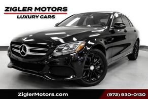 Mercedes-Benz C 300 4Matic Sport Navigation Rear View Camera Keyless Package Clean Carfax WARRANTY 2016