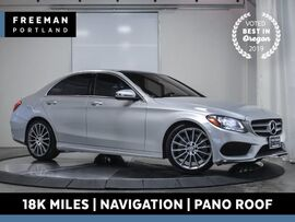 2016 Mercedes-Benz C 300 AMG Sport Nav Pano Keyless Go Blind Spot Assist