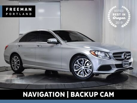 2016_Mercedes-Benz_C 300_Back-Up Camera Navigation_ Portland OR