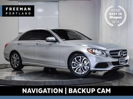 2016 Mercedes-Benz C 300 Back-Up Camera Navigation Portland OR