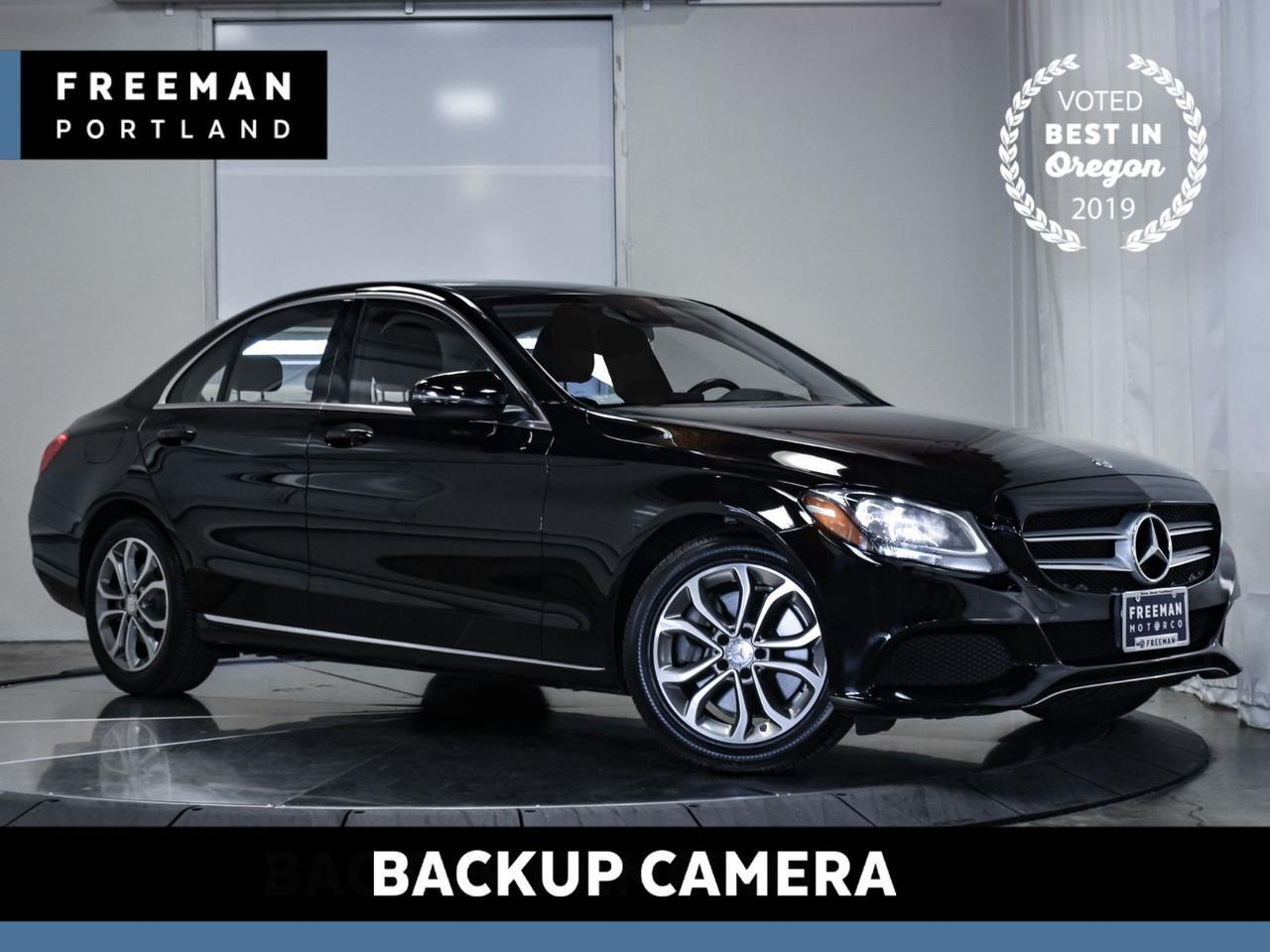 2016 Mercedes-Benz C 300 Back-Up Camera Portland OR