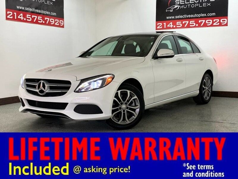 2016 Mercedes-Benz C 300 Luxury AWD, NAV, PANO ROOF, HEATED FRONT SEATS Carrollton TX