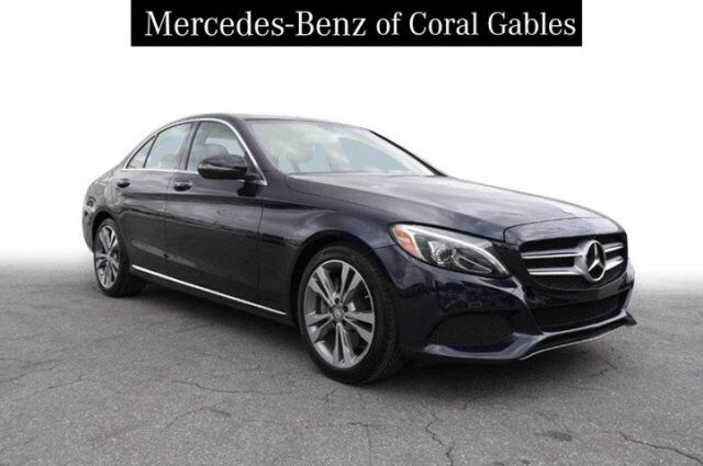 2016 Mercedes-Benz C 300 Sedan Coral Gables FL