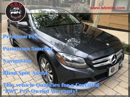 2016_Mercedes-Benz_C 300_Sport 4MATIC w/ Premium Pkg_ Arlington VA