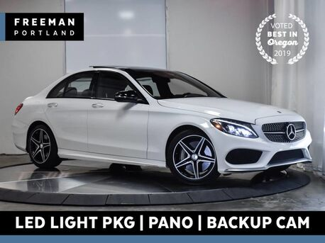 2016_Mercedes-Benz_C 450 AMG_Pano LED Lighting Pkg Burmester Surround Sound_ Portland OR