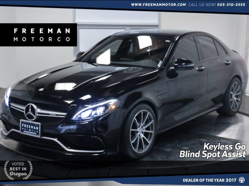 2016 Mercedes-Benz C 63 AMG Keyless Go Blind Spot Assist Pano Nav Portland OR