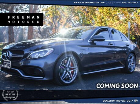 2016_Mercedes-Benz_C 63_S AMG 503 HP 19K Miles Lighting Pkg_ Portland OR