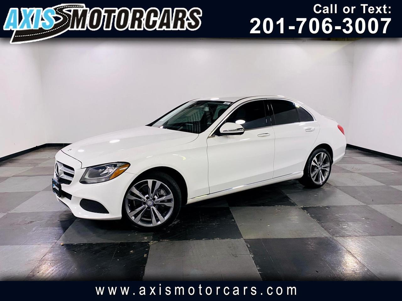 2016 Mercedes-Benz C-Class 4dr C 300 4MATIC w/Backup Camera Navigation Jersey City NJ