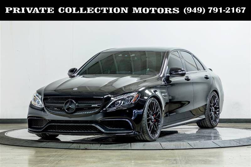 2016_Mercedes-Benz_C-Class_AMG C 63 S_ Costa Mesa CA