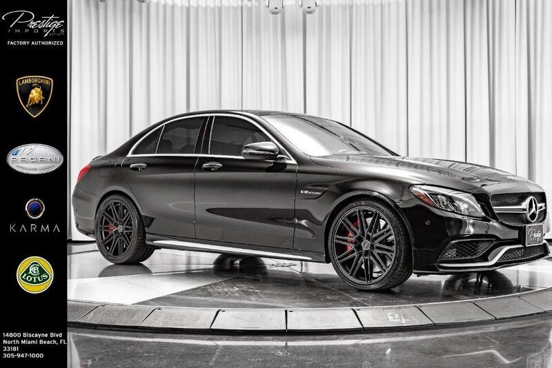2016 Mercedes-Benz C-Class AMG C 63 S North Miami Beach FL