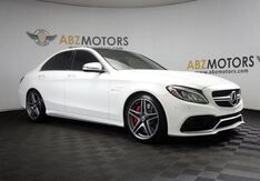 2016_Mercedes-Benz_C-Class_AMG C 63 S Pano,Blind Spot,HUD,Navigation,Camera_ Houston TX