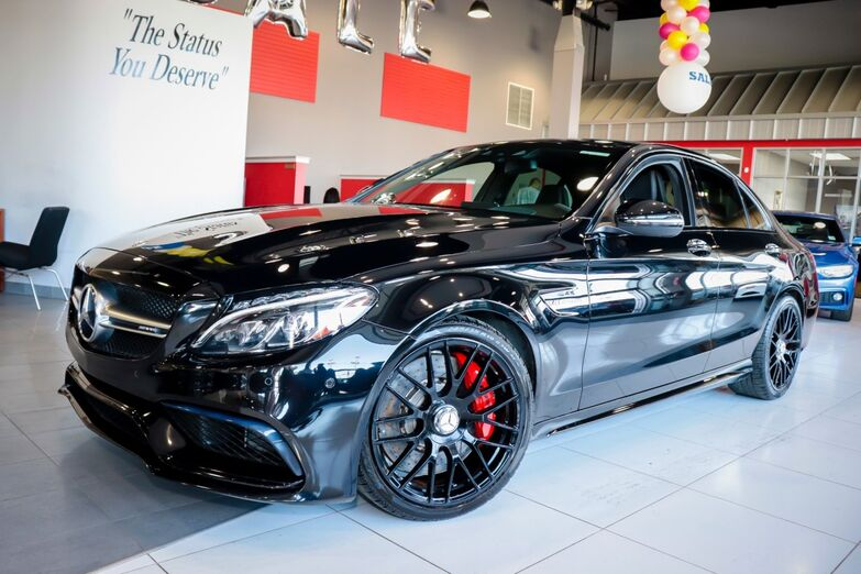 2016 Mercedes-Benz C-Class AMG C 63 S Performance Seat Lighting Multimedia Package 19 Amg Wheels Heads Up Display Backup Camera Sunroof Springfield NJ