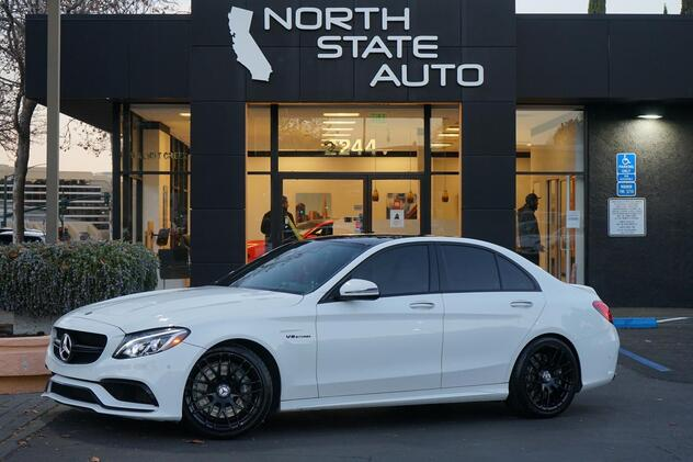 2016_Mercedes-Benz_C-Class_AMG C 63_ Walnut Creek CA