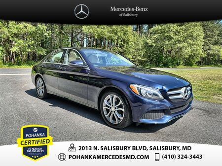2016_Mercedes-Benz_C-Class_C 300 ** 10 Year / 100,000 Warranty **_ Salisbury MD