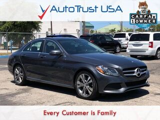 Mercedes-Benz C-Class C 300 1 OWNER CLEAN CARFAX NAV BACKUP CAM PANO ROOF 2016