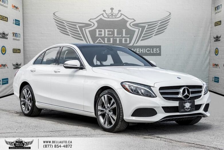 2016 Mercedes-Benz C-Class C 300, 360 CAM, NAVI, BLIND SPOT, PANO ROOF Toronto ON