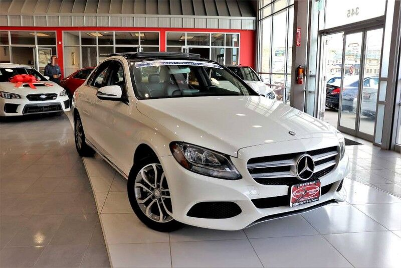 2016 Mercedes-Benz C-Class C 300 4MATIC - CARFAX Certified 1 Owner No Accidents Fully Serviced QUALITY CERTIFIED up to 10 YEARS 100,000 MILE WARRANTY Springfield NJ