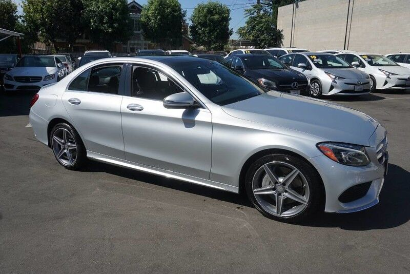 2016 Mercedes-Benz C-Class C 300 4MATIC (01/16) SPORT PACKAGE / MULTIMEDIA WITH NAVIGATION Monterey Park CA